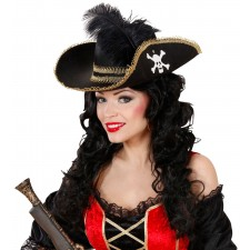 Bonny Black Piratenhut 2