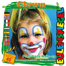 Clown Schminkset 2