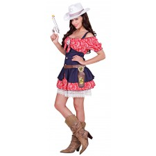 Wild West Cowgirl Kostüm 2