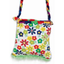 Flower Power Hippie Handtasche