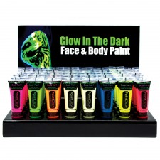 Glow In The Dark - Body & Face Paint rot 2