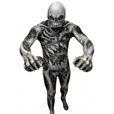 Monster Skelett Morphsuit Halloween
