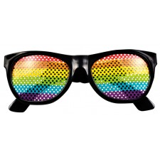Rainbow Retro Brille 2