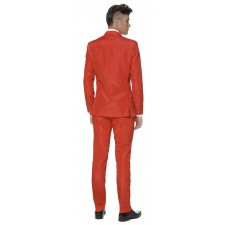 Suitmeister Solid Red Anzug