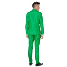 Suitmeister Solid Green Anzug