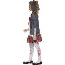 Zombie School Girl Kostüm 2